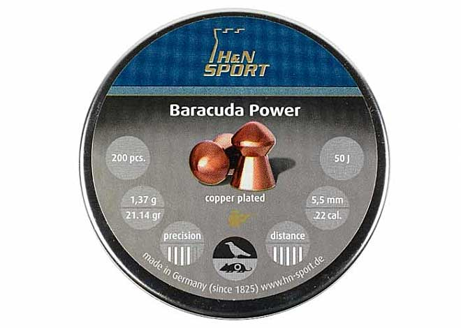 Baracuda Power 5,5mm 1,37 g 200 шт