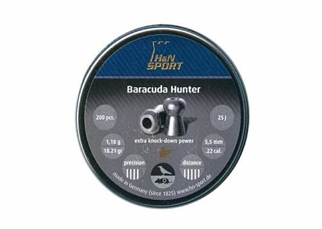 Baracuda Hunter 5,5mm 1,18 g 200  шт