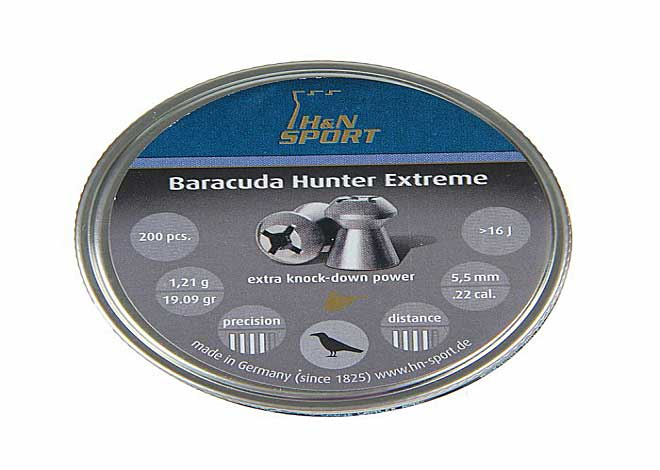 Baracuda Hunter Extreme 5,5 mm 1,21 g 200 шт