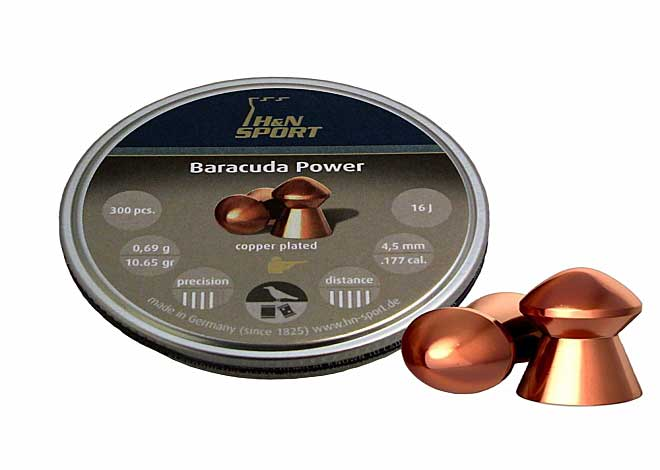 Baracuda Power 4,5mm 0,69 g 300 шт