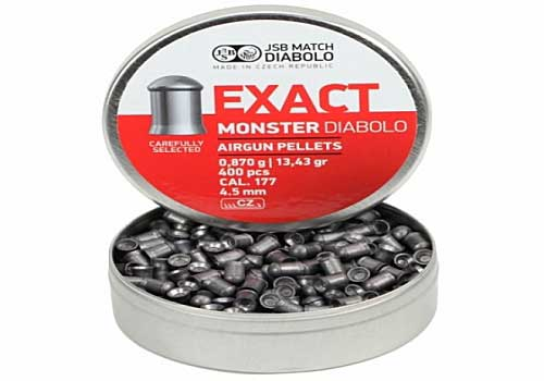 Exact Monster 4,52mm 0,87g 400шт