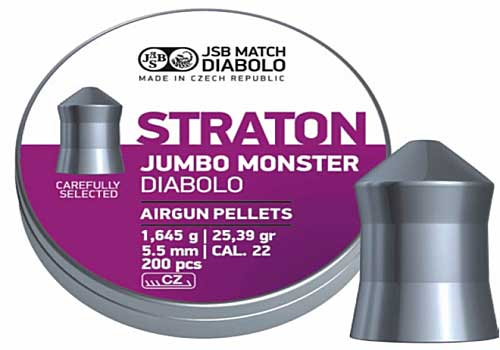 Straton Jumbo Monster 5,51mm 1,645g 200шт