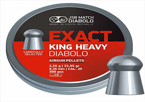 Exact King Heavy 6,35mm 2,200g 300шт