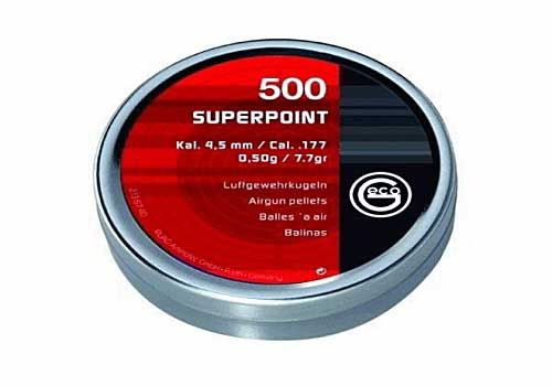 Geco Superpoint 4,50mm 0,50g 500 шт